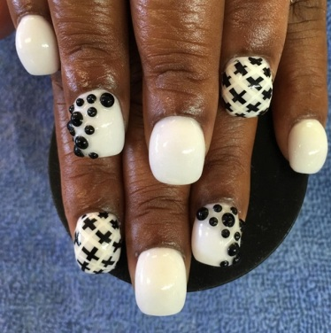 bubble nails @nailsbyann