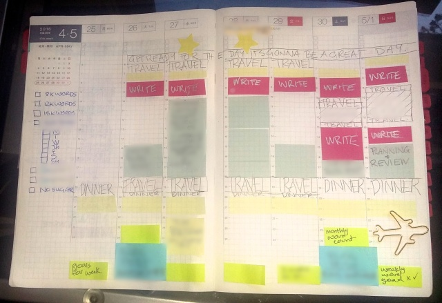 hobonichi  adhd strategies  and a free planner template