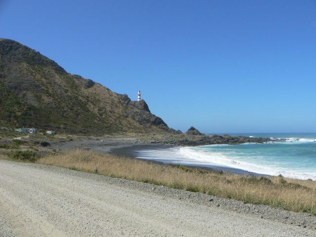 Cape Palliser Lighthouse, photo by Aiden on Flickr, CC lic.jpg